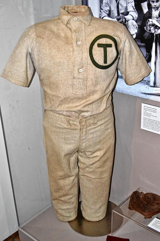 Old Timers shirt and pants, Harold, S. Flanders of Concord. (TIM GOODWIN / Insider staff) -