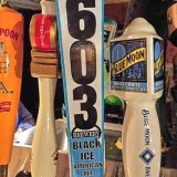 We tasted 603 Brewery's Black Ice American Ale for you