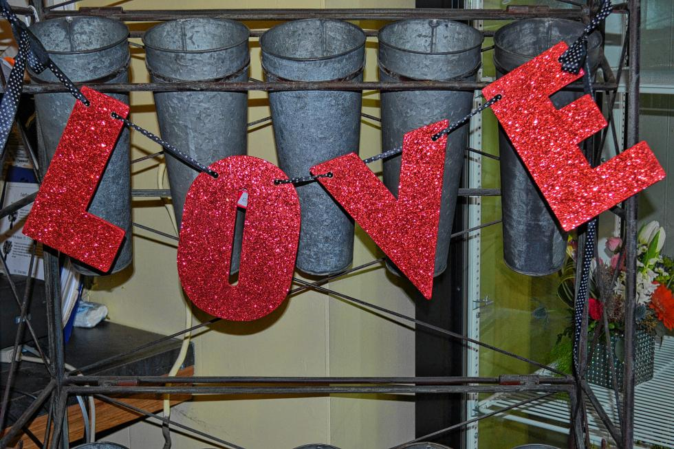It's what Valentine's Day is all about. (TIM GOODWIN / Insider staff) -