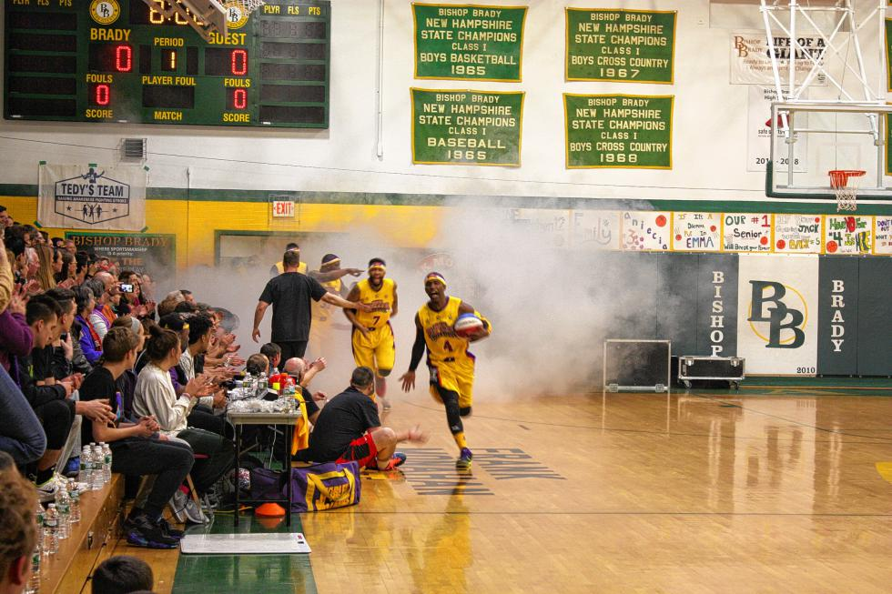 Here come the Harlem Wizards! (JON BODELL / Insider staff) -