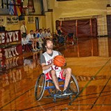 Jon lit up the scoreboard at the NHTI Wheelchair Basketball Benefit