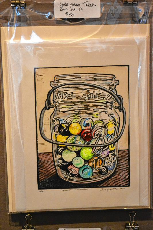 Ball Jar 2, Jane Grant Tentas. (TIM GOODWIN / Insider staff) -