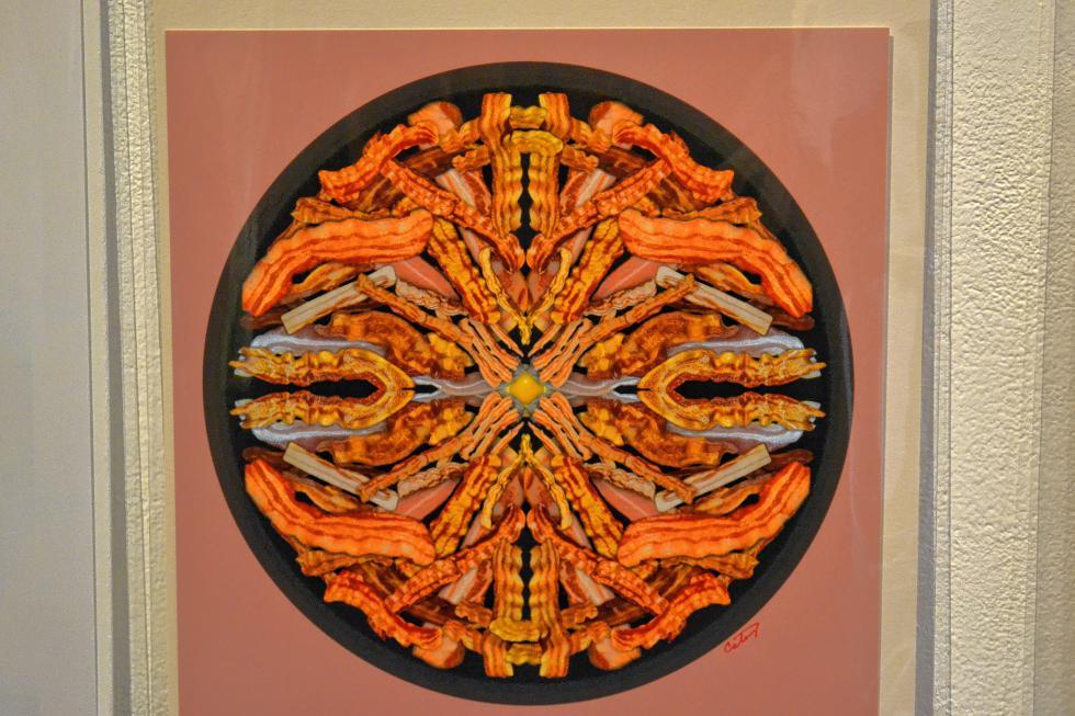 Fabulous 50's Bacon Mandala, Donna Catanzaro. (TIM GOODWIN / Insider staff) -