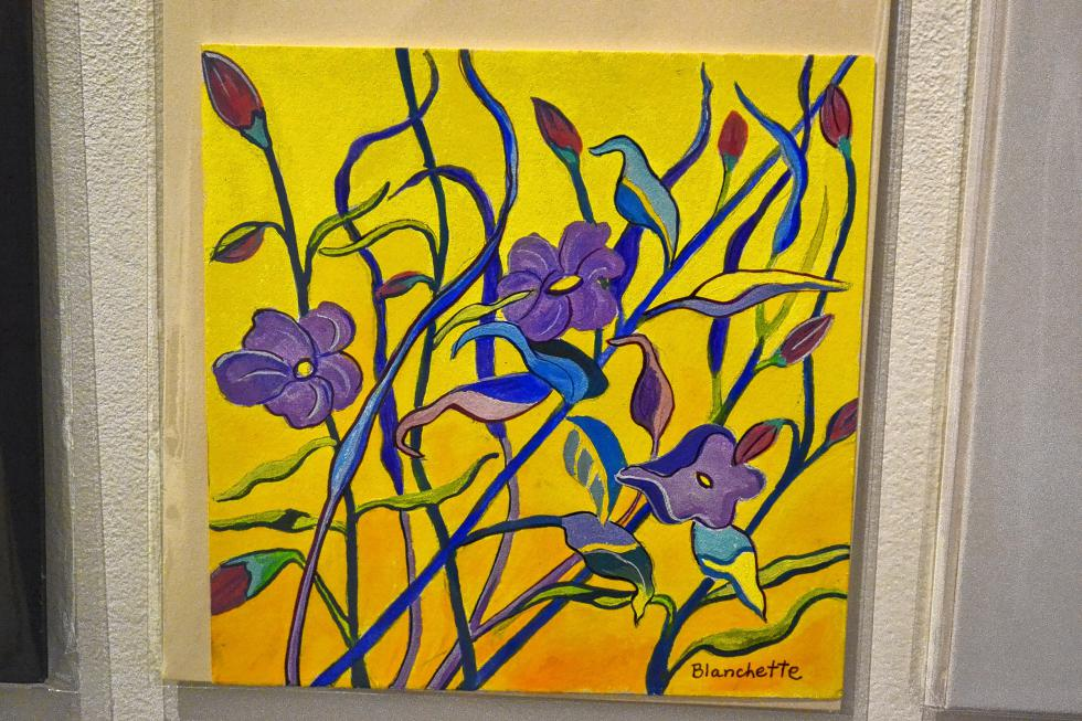 Plant Life, Lisa Blanchette. (TIM GOODWIN / Insider staff) -