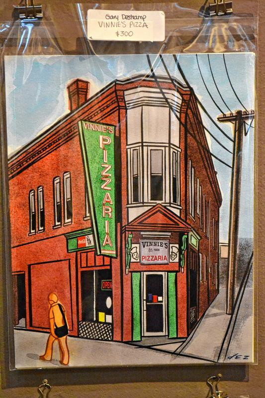 Vinnie's Pizza, Gary Destramp. (TIM GOODWIN / Insider staff) -