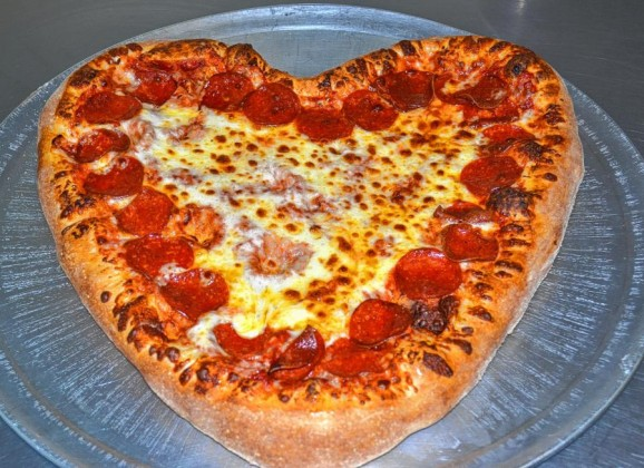 Constantly Pizza whips up heart-shaped pies for Valentine's Day