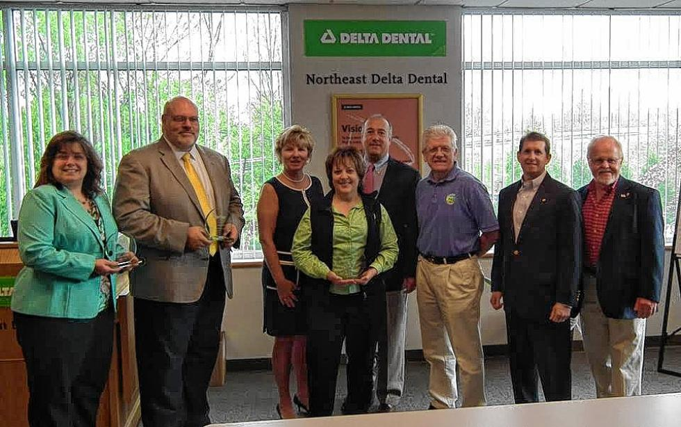 Look at those happy award winners last year. That could be you if you or your organization fit into one of the three categories. Application submissions are due April 8, with the awards breakfast to be held May 11 at Northeast Delta Dental. (Courtesy photo) -
