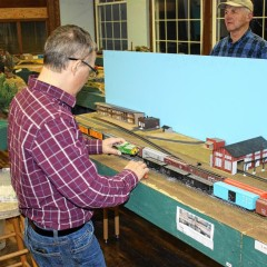 Spend your Thursday nights with the Concord Model Railroad Club