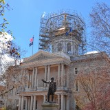The State House dome has a new look nowadays