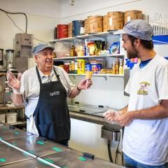 Ballard's Ice Cream    to throw birthday/retirement bash