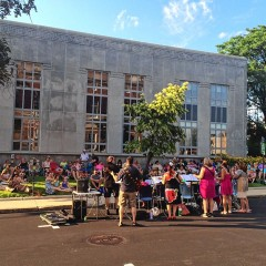Live Music on the Lawn returns to the library