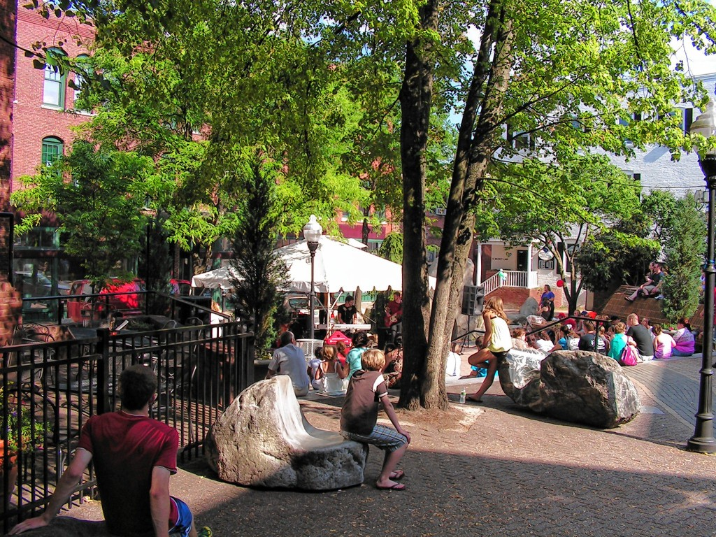 CourtesyBicentennial Square is a happening place to listen to some live music during Market Days, as evidenced by this photo from a previous installment of the festival.