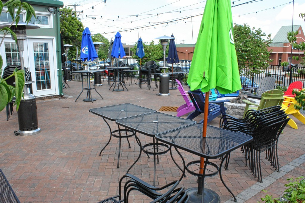 JON BODELL / Insider staffCheck out the sweet new expanded patio that opened outside of Cheers in late May.