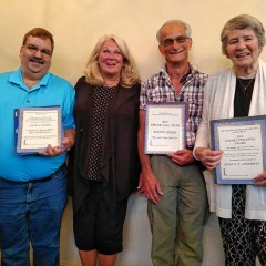 Friends honor volunteers with annual awards