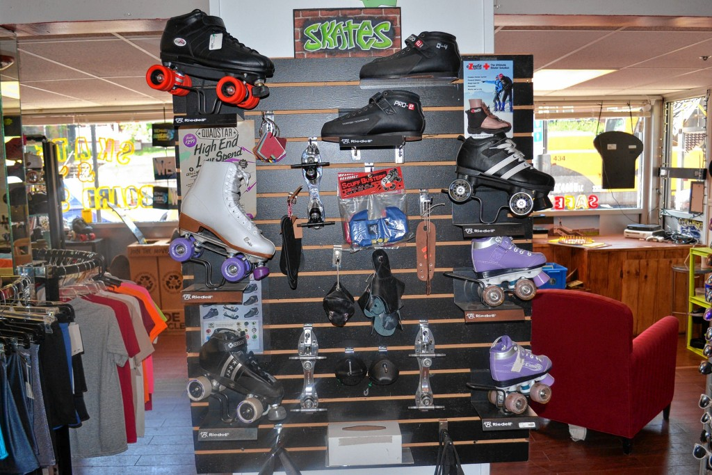 Tim Goodwin—Insider staffWe checked out Spank Alley Skate Shop last week to see what was out there for roller derby gear.