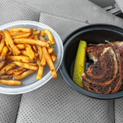 Food Snob: Reuben and hand-cut fries from Zac's Snax