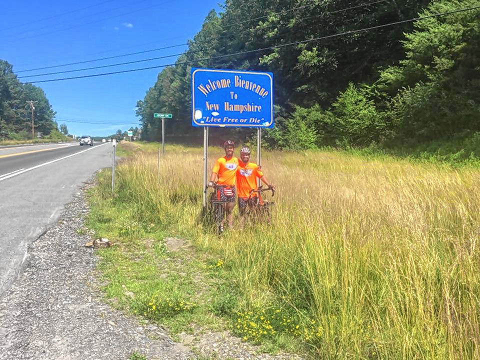 Courtesy—Derek and Sylan Thomson finally completed their 4,500 mile journey across the country to benefit the Connolly Tough Fund