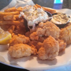 Food Snob: Fried scallop basket from Tandy's Top Shelf