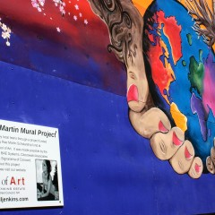 Have you seen the  mural on the side of CVS?