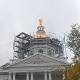 The State House dome is looking mighty shiny
