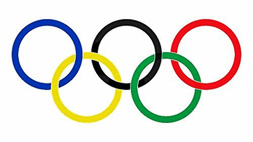 Courtesy image—The Olympic rings.