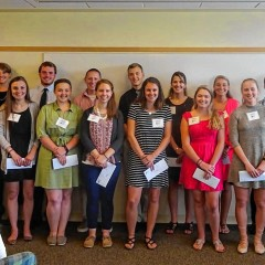 Scholarships handed out