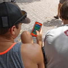 We tagged along for a Pokémon Go session