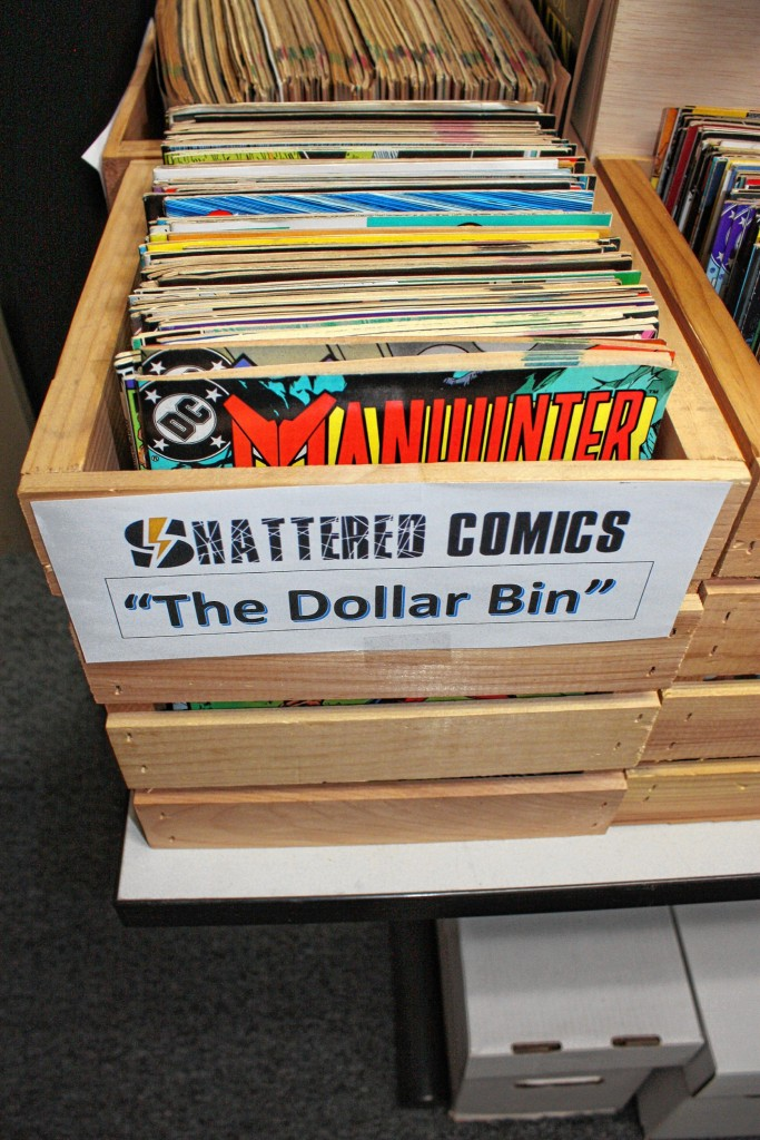 JON BODELL / Insider staff—We stopped by Shattered Comics to check out what they had.