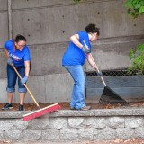 It was a happening Day of Caring in Concord