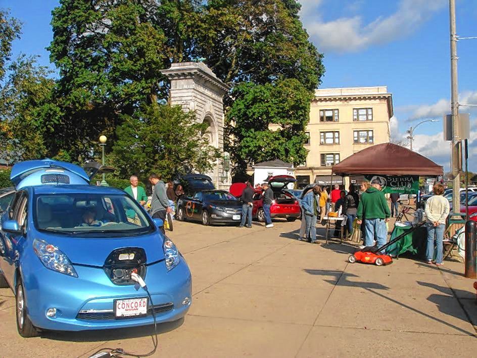 CourtesyIt's National Drive Electric Week and there's a celebration at City Plaza on Saturday, so you should probably make a plan to go down there – if you're interested in electric vehicles, that is.