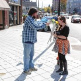 Beyond the Cubicle: Tim gave flowers to complete strangers