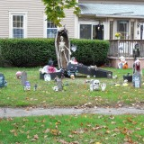 Concord has some nice Halloween displays