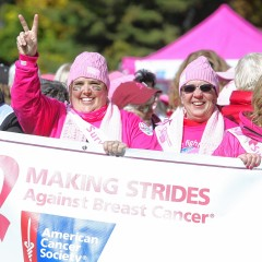 Making Strides:Lots of ways to volunteer if you want to help
