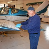 What goes into inspecting, repairing a plane?