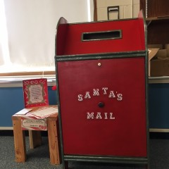 Get your letters to Santa ready to send out