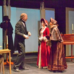 Audition for 'A Christmas Carol' at the Audi on Monday