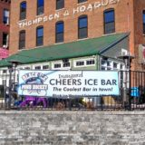 Cheers is going to have a bar – made of ice – for Black Ice