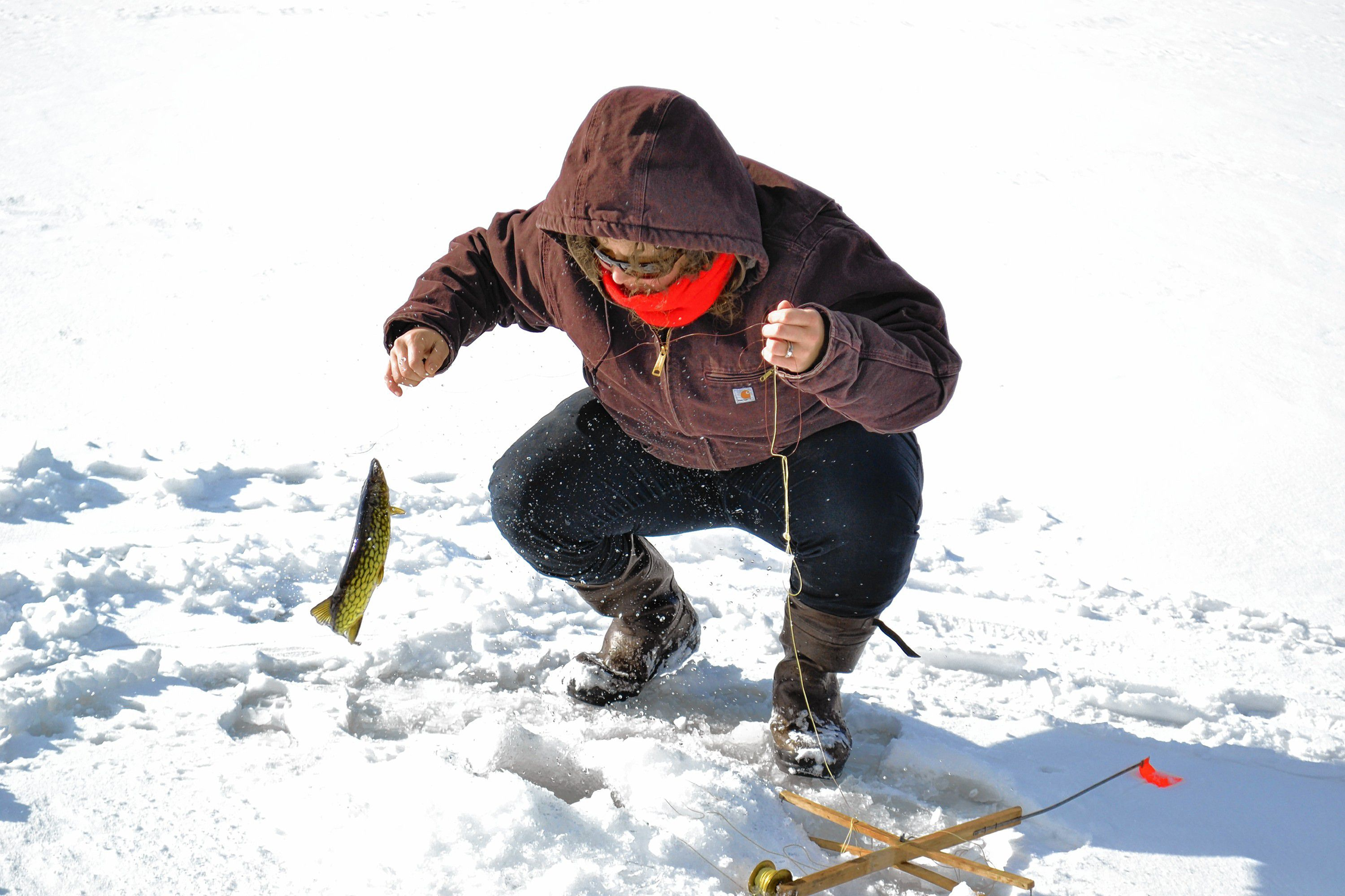 We learned about the spots to go ice fishing in concord for Go ice fish