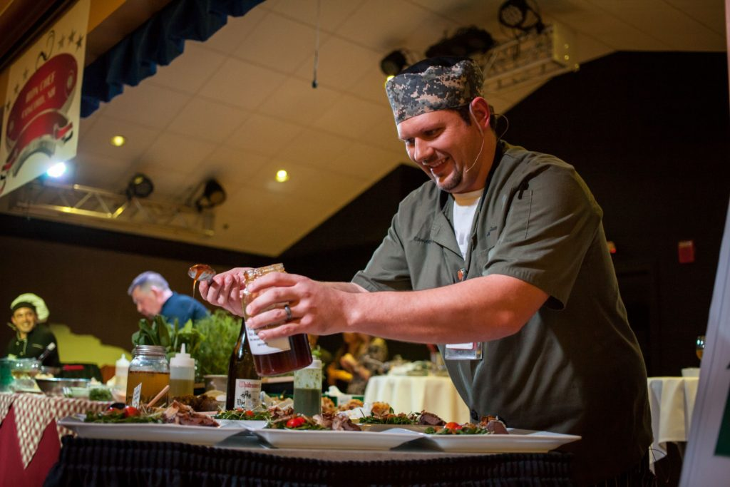 Havenwood-Heritage Heights executive chef Jason Seavey is the two-time defending champion in Iron Chef Concord. Will he make it a three-peat? You'll have to go to find out.