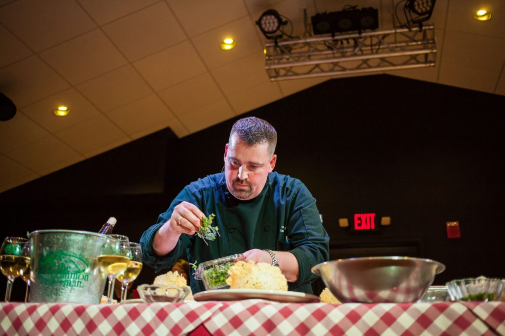 Scenes from Concord's second annual Iron Chef competition at Heritage Heights in Concord on Thursday, April 7, 2016. (ELIZABETH FRANTZ / Monitor staff)