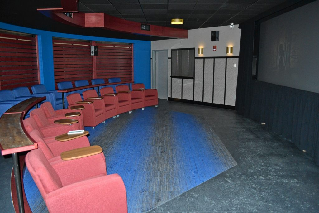 Red River opened its Simchik Cinema, and it's a really comfortable place to catch a flick.