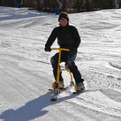 Jon earned his snowbiking license at Pats Peak