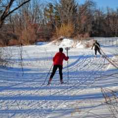 Thanks to all the snow, skiers are quite happy