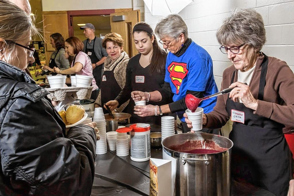 SouperFest will be held at Rundlett Middle School on Saturday. It's a fundraiser for the Concord Coalition to End Homelessness and will feature 30 soups, tasty breads and desserts.