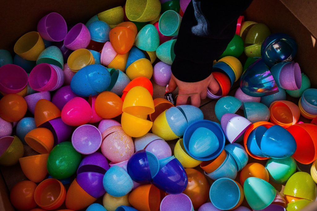 There will be more plastic eggs hiding around Concord over the course of the week than you'll know what to do with.