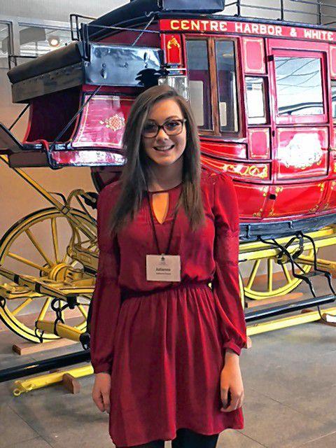 Julianna Fusco, Concord High SchoolHometown: DeerfieldFavorite subject: ScienceWhat I see myself doing down the road: Brain surgeonFavorite pursuit: Dressage