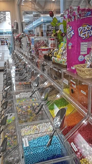 Look at all those jelly beans, 48 flavors in all, at True Confections at Steeplegate Mall.