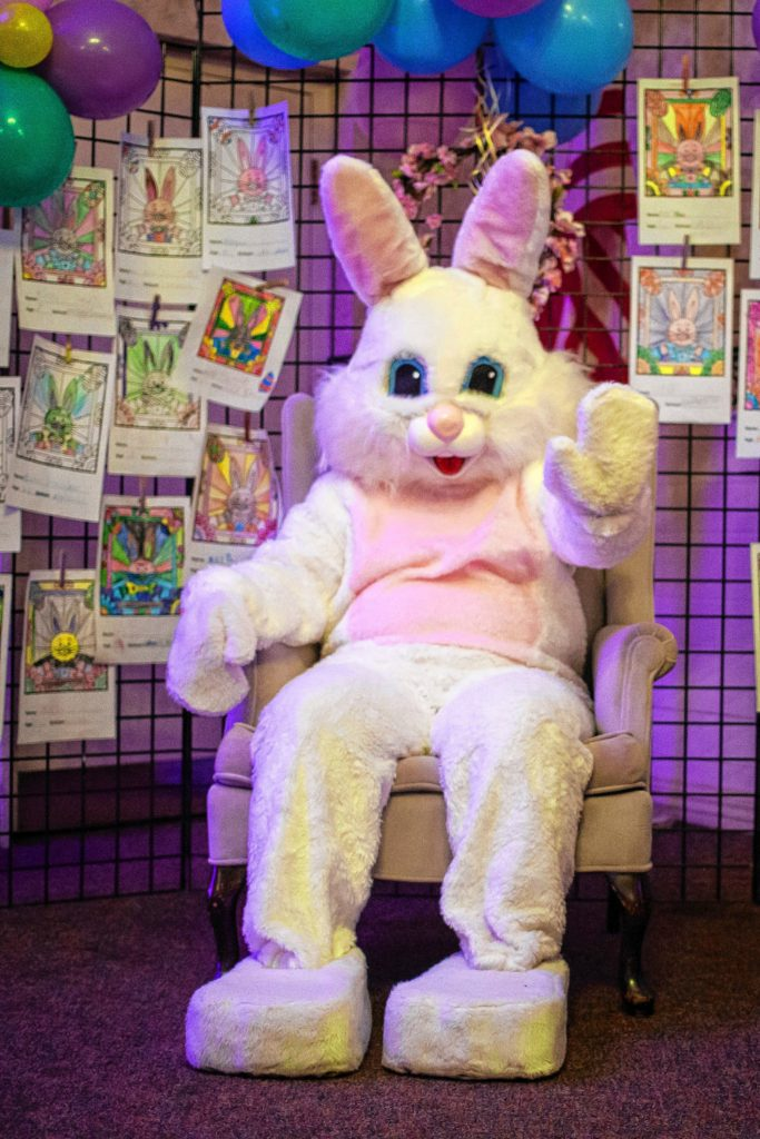 In case you couldn't make it, the Easter Bunny wanted to say hi. (ELIZABETH FRANTZ / Monitor staff)