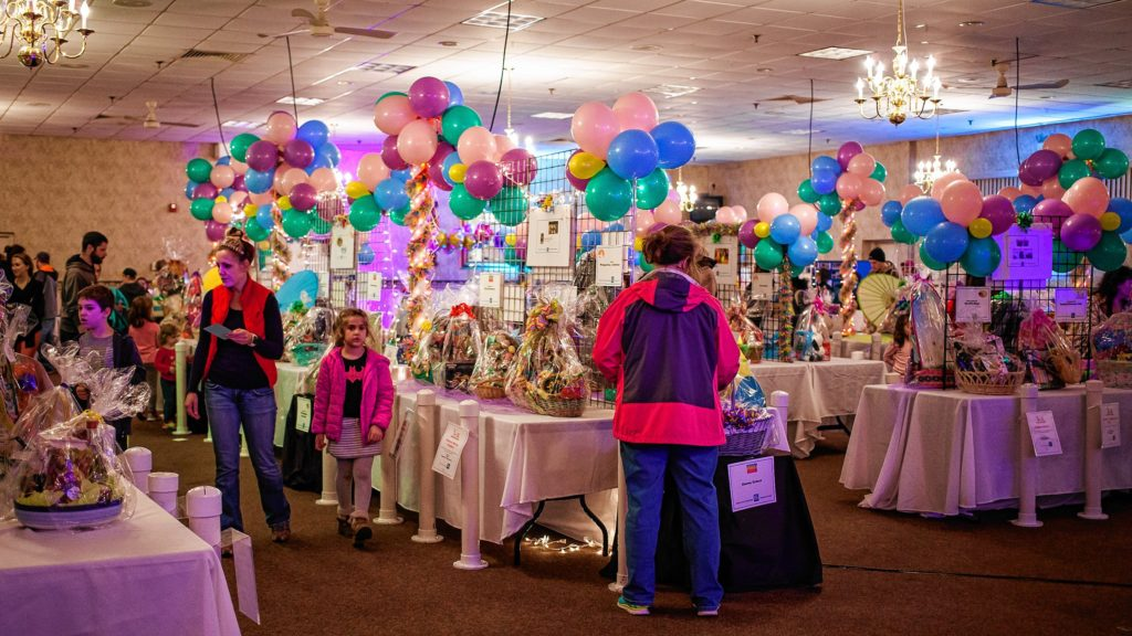 Scenes from Eggstravaganza at the Bektash Shrine Center in Concord on Friday, April 7, 2017. The event continues on Saturday and Sunday. (ELIZABETH FRANTZ / Monitor staff)