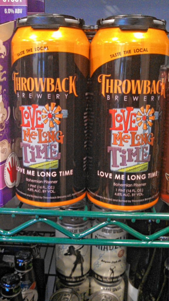 Of course we want beer in our Easter basket! We stopped by Local Baskit to check out the selection, and we found some Love Me Long Time from Throwback Brewery in Portsmouth and some Stoutella, a Nutella-flavored stout, by Knee Deep Brewing in California.  (JON BODELL / Insider staff)